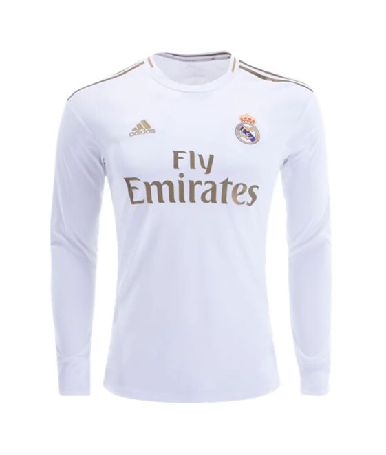 Camiseta Local Manga Larga 2019-20 (Climalite) Real Madrid CF